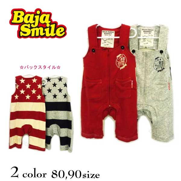 【2018秋冬物新作♪】 Baja Smile(バハスマイル)USA国旗ロンパース【メール便可能】