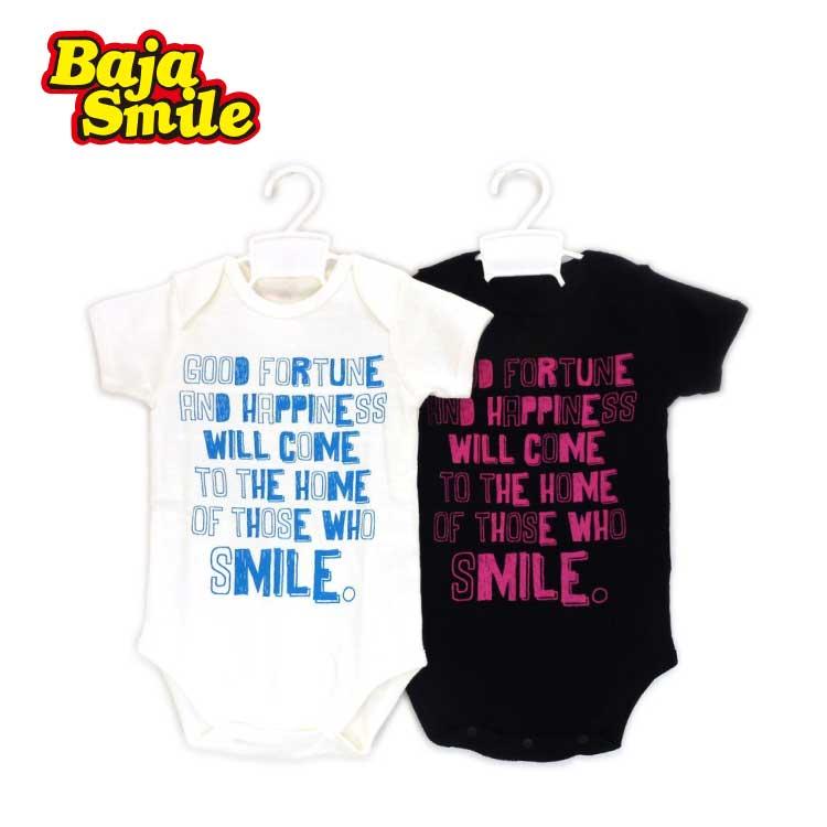 【2018夏物新作♪】Baja Smile(バハスマイル)笑う門には福来るボディースーツ【メール便可能】