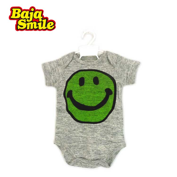 【2018夏物新作♪】Baja Smile(バハスマイル)落書きスマイルボディースーツ【メール便可能】