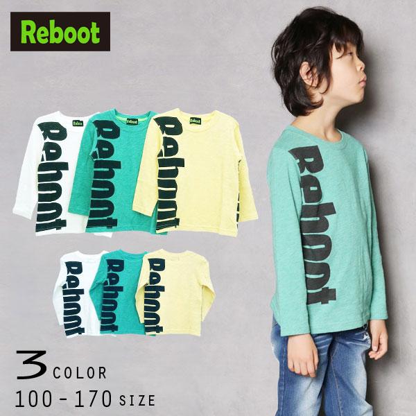 【30%OFFSALE】Reboot(リブート)ロゴプリント長袖Tシャツ【メール便送料無料】