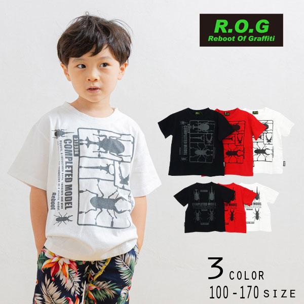 【50%OFFSALE】Reboot(リブート)昆虫プラモデルビック半袖Tシャツ【メール便可能】