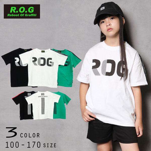 【50%OFFSALE】R.O.G Reboot(リブート)ロゴプリント半袖ビックTシャツ【メール便可能】