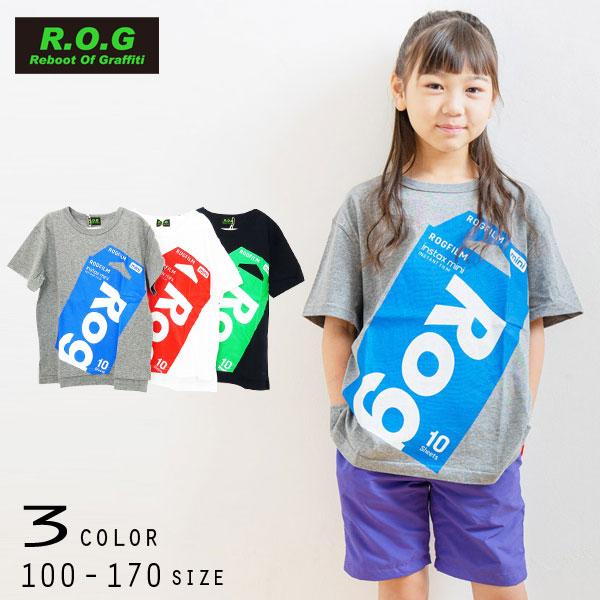 【50%OFFSALE】R.O.G Reboot(リブート)ROG FILMプリントビックTシャツ【メール便可能】