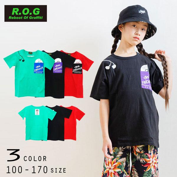 【50%OFFSALE】R.O.G Reboot(リブート)ポケットDisc半袖Tシャツ【メール便可能】