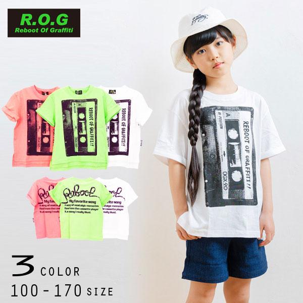 【50%OFFSALE】R.O.G Reboot(リブート)カセットテープビックTシャツ【メール便可能】