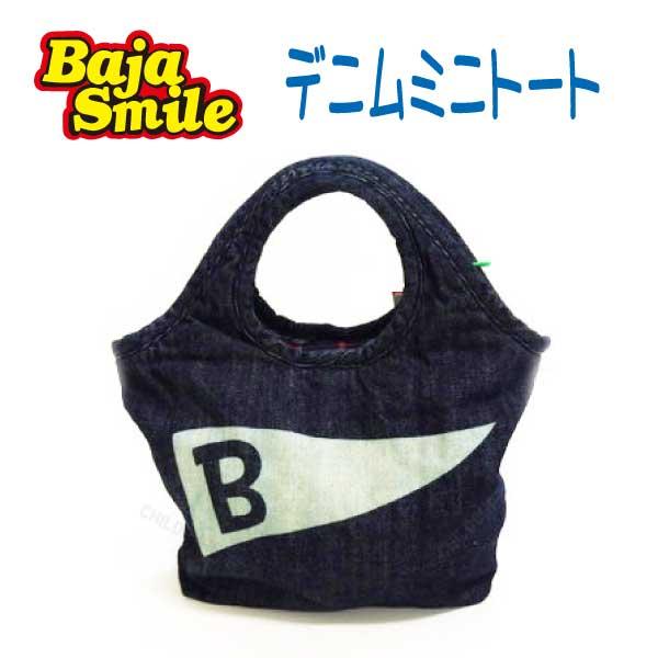 【秋物新作♪】Baja Smile(バハスマイル)デニムミニトート【メール便可能】