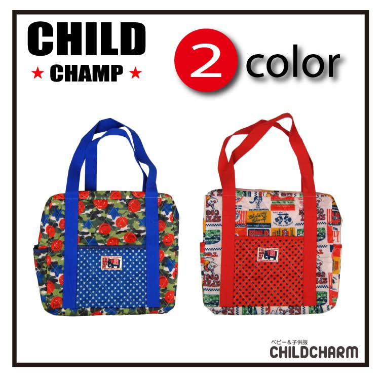 【2000円均一】CHILD CHAMP(チャイルドチャンプ)総柄マザーバック【メール便不可】