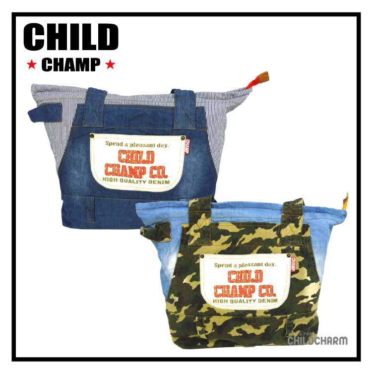 【SALE!!20%OFF!!】CHILD CHAMP(チャイルドチャンプ)リメイク風マザーバック【メール便不可】