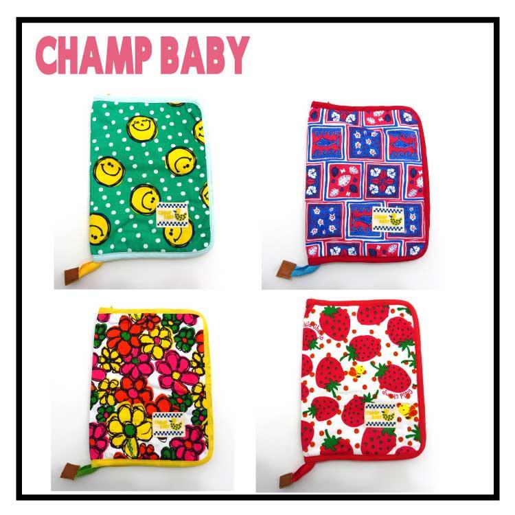 【2017春物新作♪】CHILD CHAMP(チャイルドチャンプ)総柄母子手帳ケース【メール便可能】