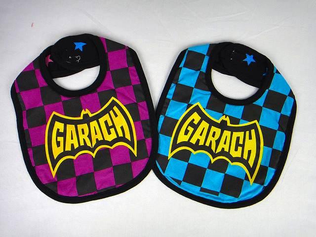 GARACH(ギャラッチ)ブロックチェックロゴスタイ