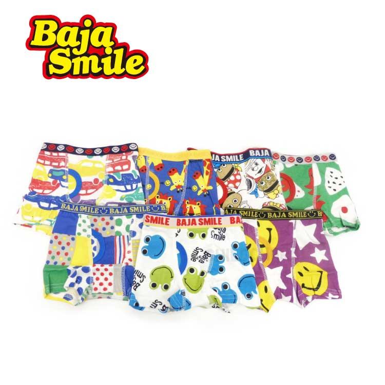 【2018夏物新作♪】Baja Smile(バハスマイル)7柄ボクサーパンツ【メール便可能】