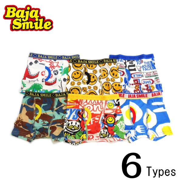 Baja Smile(バハスマイル)6柄ボクサーパンツ【メール便可能】