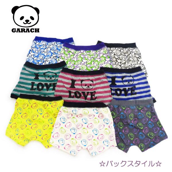 GARACH(ギャラッチ)パンダ柄ボクサーパンツ【メール便可能】