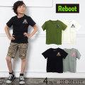 【50%OFFSALE】Reboot(リブート)オルテガ柄プリント半袖Tシャツ【メール便可能】