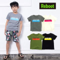 【2019夏物新作♪】Reboot(リブート)GOOD TIME 半袖Tシャツ【メール便送料無料】