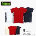 【2019夏物新作♪】Reboot(リブート)ロゴライン入りビックTシャツ【メール便送料無料】