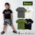 【2019夏物新作♪】Reboot(リブート)ロゴプリント半袖Tシャツ【メール便送料無料】