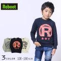 """【50%OFFSALE】Reboot(リブート)""""R""""ロゴトレーナー【140サイズまでメール便可能】"""