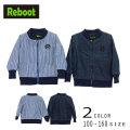 【30%OFFSALE】Reboot(リブート)ロゴ入りデニム裏シャギージャケット【メール便不可】