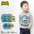 【2020春物新作】GARACH(ギャラッチ) ブロック長袖Tシャツ【メール便送料無料】
