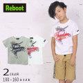 【50%OFFSALE】Reboot(リブート)ペンギンプリント半袖Tシャツ【メール便可能】