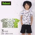 【2020夏物新作】Reboot(リブート)昆虫総柄プリント半袖Tシャツ【メール便送料無料】