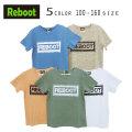 【50%OFFSALE】Reboot(リブート)かすれロゴプリント半袖Tシャツ【メール便可能】