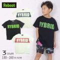 【50%OFFSALE】Reboot(リブート)HYBRIDメッシュロゴ半袖ビックTシャツ【メール便可能】