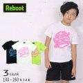 【50%OFFSALE】Reboot(リブート)ネオンロゴプリント半袖Tシャツ【メール便可能】