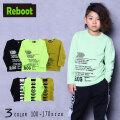 【30%OFFSALE】Reboot(リブート)ロゴプリントロングTシャツ【メール便送料無料】