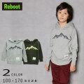 【50%OFFSALE】Reboot(リブート)マウンテン刺繍パーカー【120サイズまでメール便可能】