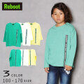 【30%OFFSALE】Reboot(リブート)ロゴテープビック長袖Tシャツ【メール便送料無料】