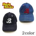 【2018夏物新作♪】Baja Smile(バハスマイル)DENIMキャップ【メール便可能】