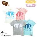 【10%OFFSALE】【2020夏物新作】ALMOND BAR(アーモンドバー)AMDロゴ半袖Tシャツ フリーサイズ【メール便送料無料】