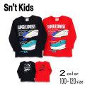 【2021秋物新作】Sn't kids(セントキッズ)新幹線プリント長袖Tシャツ【メール便送料無料】