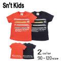 【2020夏物新作】Sn't kids(セントキッズ)新幹線半袖Tシャツ【メール便送料無料】