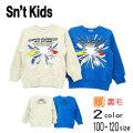 【2020秋冬新作】Sn't kids(セントキッズ)新幹線プリントトレーナー【メール便送料無料】