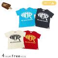 【2019夏物新作♪】ALMOND BAR(アーモンドバー)AMDプリント半袖Tシャツ☆フリーサイズ【メール便送料無料】