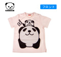 【SALE!!】GAOSS(ギャオス)乗り物パンダ半袖Tシャツ【メール便可能】(80cm)