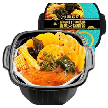 藤椒味什锦蔬菜