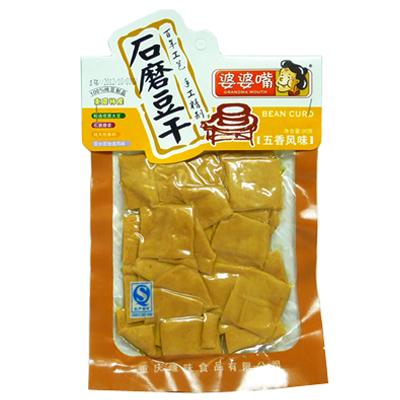【常温便】婆婆嘴石磨豆干-五香風味