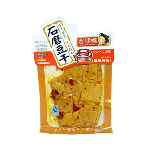 【常温便】婆婆嘴石磨豆干-麻辣風味
