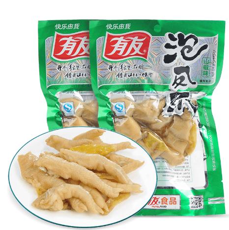 有友泡椒鳳爪100g(零食)