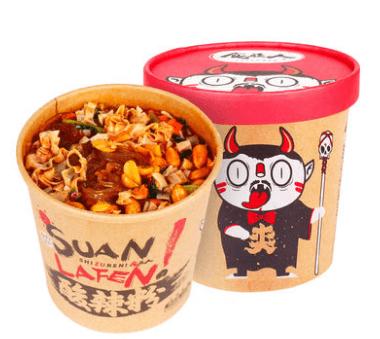 【常温便】食族人重慶薯粉条粉條速食桶装
