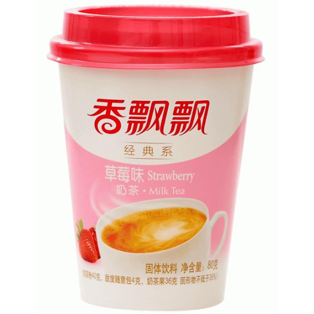 【常温便】香飄飄奶茶 草莓味