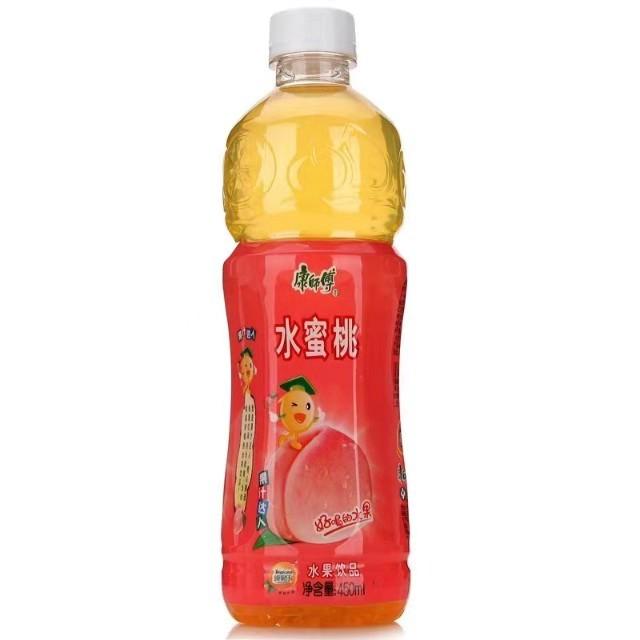 【常温便】康師傅水蜜桃果汁