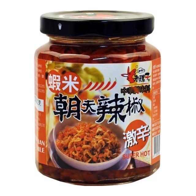 【常温便】老羅子 朝天椒蝦米 激辛