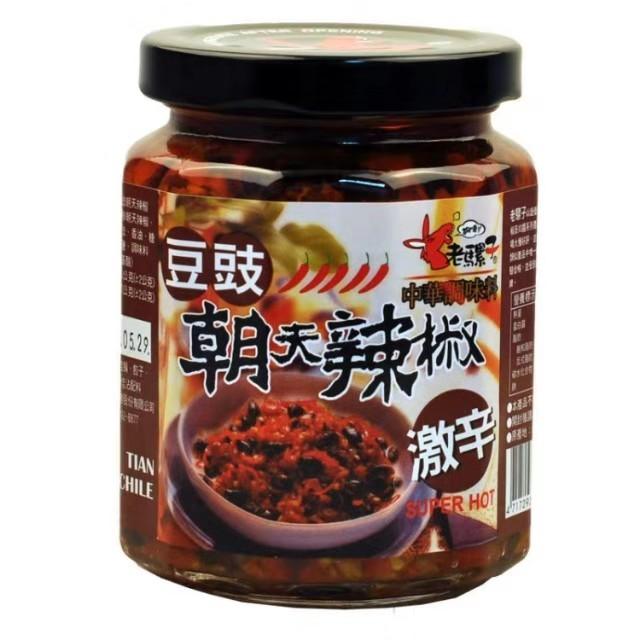 【常温便】老羅子 朝天椒 豆豉 激辛
