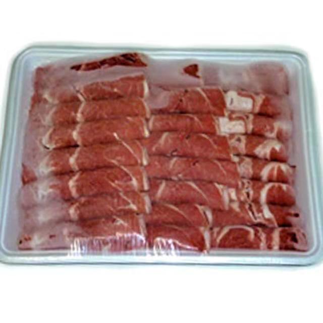 【冷凍便】ラム肉スライス/小肥羊巻 しゃぶしゃぶ用ラム肉