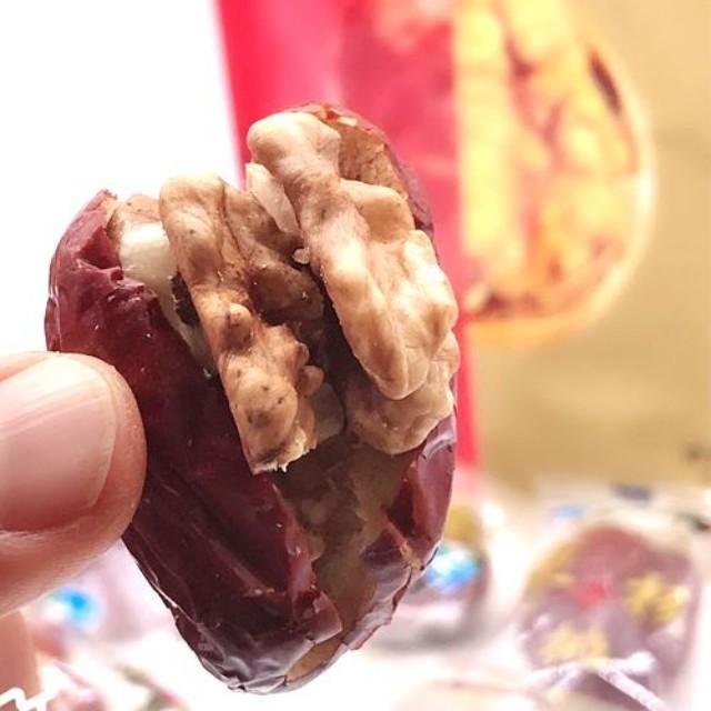 【常温便】紅棗夾核桃クルミ入りナツメ258g